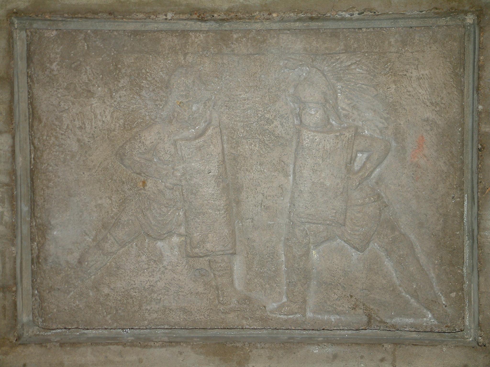Grabmal für zwei Gladiatoren