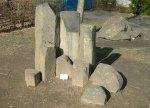 Basaltsäulen und Kugelbasalt